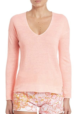 Lilly Pulitzer  - Taryn Linen Sweater