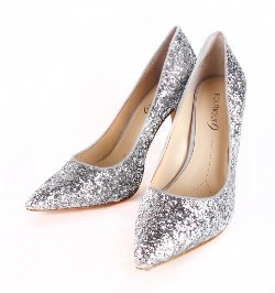 Patricia Field - Glitsy Glitter Pump Shoes