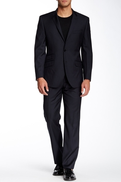 English Laundry - Two Button Notch Lapel Wool Suit