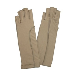 Totes - Unisex Therapeutic Compression Fingerless Gloves