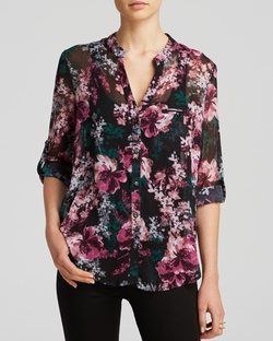 Kut From The Kloth - Jasmine Floral Print Blouse