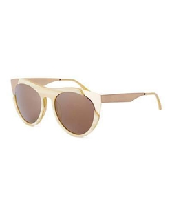 Smoke X Mirrors  - Zoubisou Cat-Eye Sunglasses