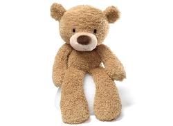 Gund  - Baby Fuzzy Beige Bear