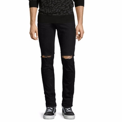 Ovadia & Sons - OS-1Slim-Fit Distressed Denim Jeans