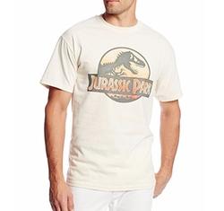 Jurassic Park  - Safari Logo T Shirt
