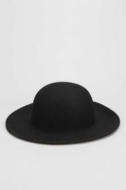 Felt Wide - Brim Bowler Hat