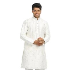 Saris And Things - White Indian Wedding Kurta