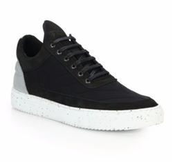 Filling Pieces - Low-Top Leather Sneakers