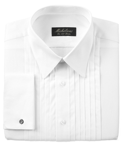 Michelsons Of London - Pleated Point Tuxedo Shirt
