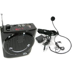 QFX - Portable PA System with Headset Microphone