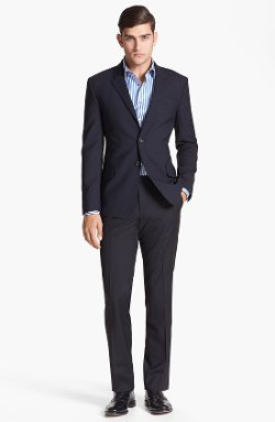 Paul Smith London - Wrinkle Free Stretch Wool Travel Suit