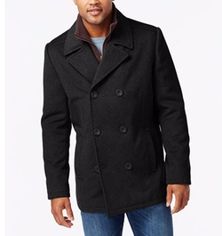 Kenneth Cole Reaction - Wool-Blend Peacoat
