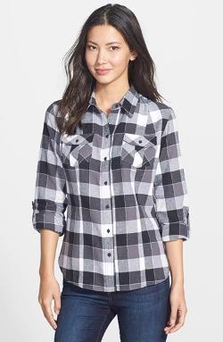 Sandra Ingrish  - Plaid Flannel Shirt