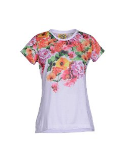 Shop Art - Floral Print T-Shirt