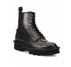 Neil Barrett  - Calf Leather Combat Boots