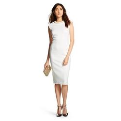 Spenser Jeremy - Embellished Neckline Shift Dress