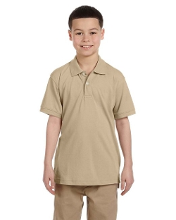 Harriton - Youth Easy Blend Polo Shirt