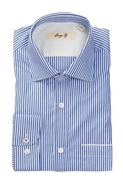 Borgo 28 - Pinstripe Long Sleeve Modern Fit Dress Shirt