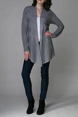 Sisters Knits - Grey Cardigan