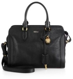 Alexander McQueen - Padlock Small Zip Satchel Bag