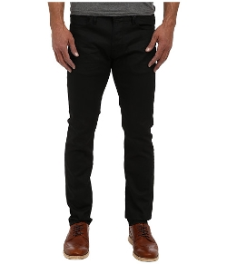 John Varvatos Star U.S.A. - Bowery Fit Jean in Jet Black
