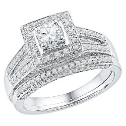 Target - Diamond Prong Bridal Ring