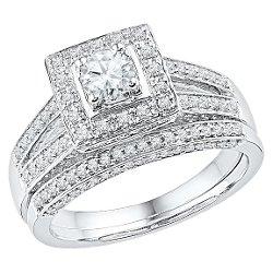 Target - Diamond Prong Bridal Ring
