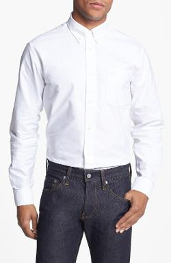 Fred Perry  - Trim Fit Oxford Sport Shirt