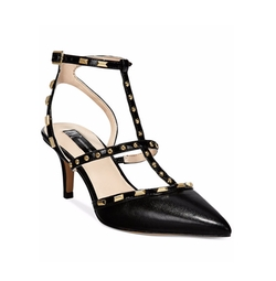 INC International Concepts - Arma Pointed Toe Studded Heel Pumps
