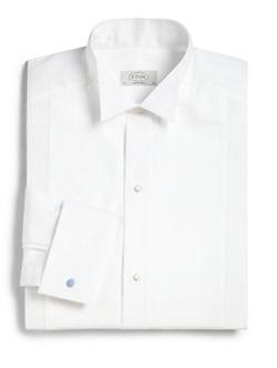 Eton of Sweden  - Contemporary-Fit Tonal Stripe Dress Shirt