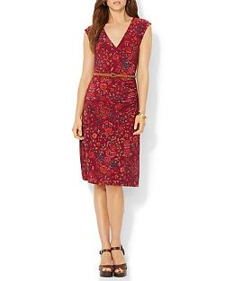 Ralph Lauren  - Faux Wrap Floral Dress