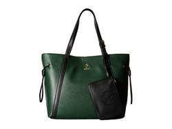 U.S. Polo Assn.  - Greenwich Color Block Mixed Media Tote Bag