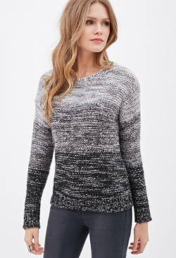 Forever 21 - Marled Knit Ombré Sweater