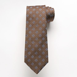 Croft & Barrow - Fish Creek Geometric Tie
