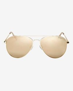 Le Specs  - Drop Top Aviator Sunglasses