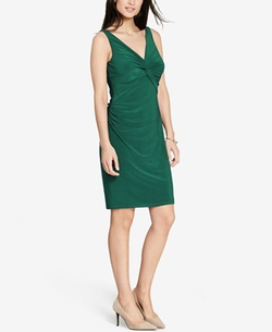 Lauren Ralph Lauren - Ruched Jersey Dress