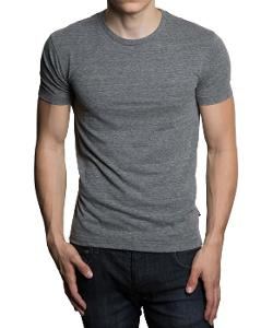 Gents - Basic Short Sleeve Crew Neck T- Shirt