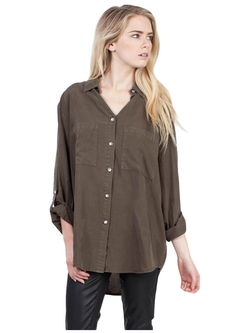 Thread and Supply - Distressed Button Down Shirt