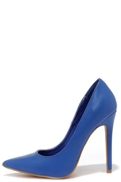 Click Your Heels - Pointed Pumps