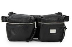 Dolce & Gabbana - Pebbled Leather Waist Bag