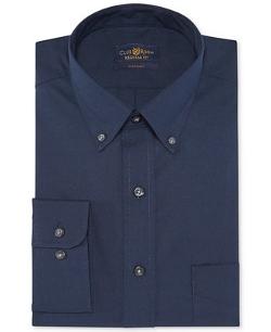 Club Room Estate - Wrinkle-Resistant Deep Ocean Solid Dress Shirt