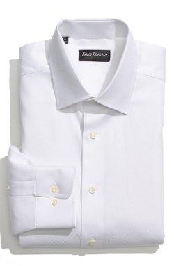 David Donahue - Royal Oxford Regular Fit Dress Shirt