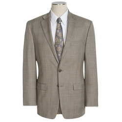 Lauren by Ralph Lauren - Lexington UltraFlex Glen Plaid Suit