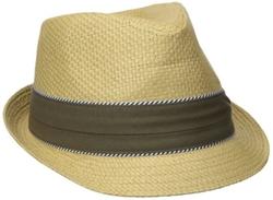 Haggar - Pleat Band Fedora Hat