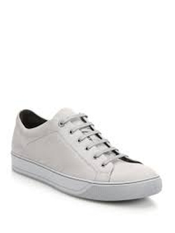 Lanvin - Classic Nubuck Leather Sneaker Shoes