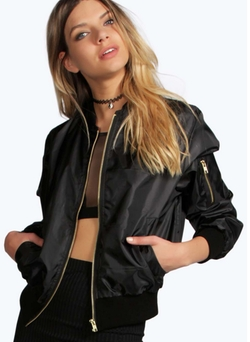 Boohoo  - Molly Ma1 Bomber jacket