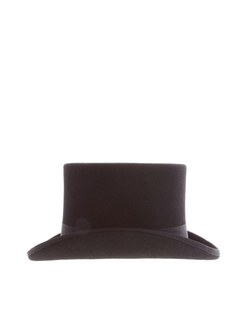 ASOS - Top Hat In Black Felt