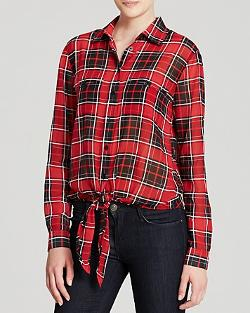 Michael Kors  - Plaid Button Down Shirt
