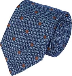 Bigi - Polka Dot Jacquard Necktie
