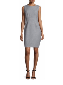 Elie Tahari - Tera Sleeveless Sheath Dress